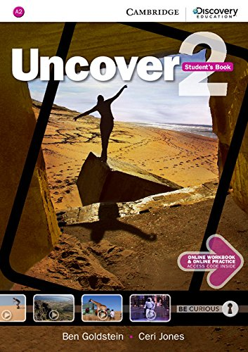 9781107493230: Uncover Level 2 Student's Book with Online Workbook and Online Practice (Cambridge Discovery Secondary)