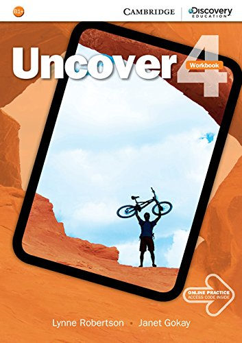 9781107493643: Uncover Level 4 Workbook with Online Practice
