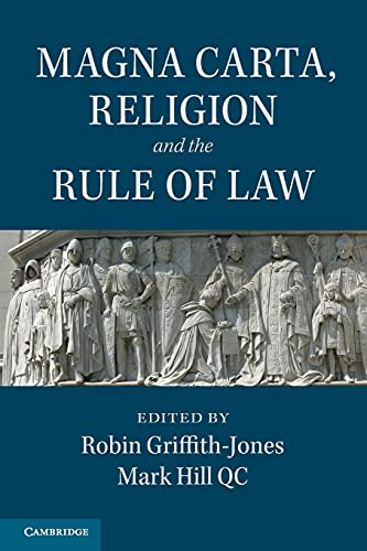 9781107494367: Magna Carta, Religion and the Rule of Law