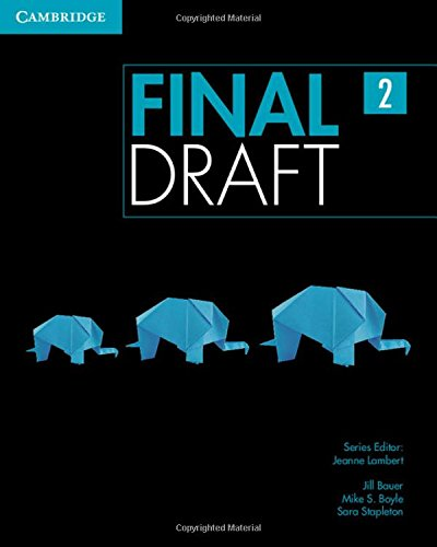 9781107495395: Final draft.Student's book. Level 2