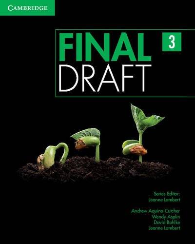 9781107495500: Final Draft Level 3 Student's Book with Online Writing Pack