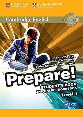 9781107497153: Cambridge English Prepare! Level 1 Student's Book and Online Workbook