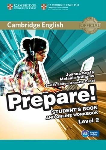 9781107497207: Cambridge English Prepare! Level 2 Student's Book and Online Workbook