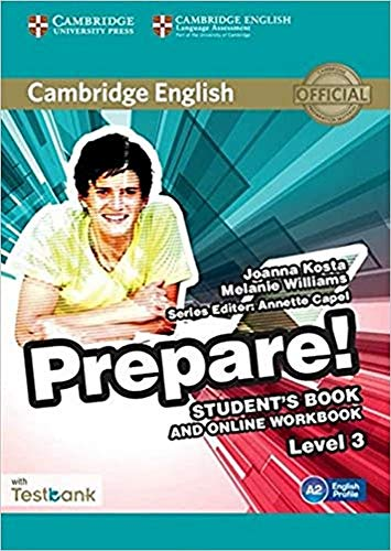 9781107497351: Cambridge English Prepare! Level 3 Student's Book and Online Workbook with Testbank