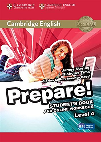9781107497856: Cambridge English Prepare! Level 4 Student's Book and Online Workbook