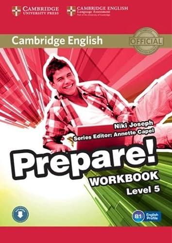 9781107497870: Cambridge English Prepare! Level 5 Workbook with Audio