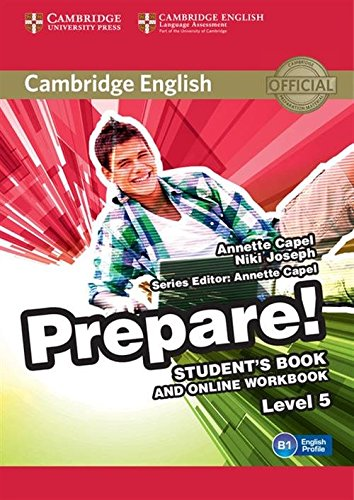 9781107497931: Cambridge English Prepare! Level 5 Student's Book and Online Workbook