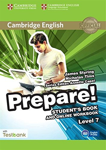 9781107498006: Cambridge English Prepare! Level 7 Student's Book and Online Workbook with Testbank