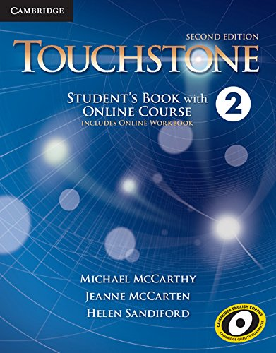 9781107498754: Touchstone Level 2 Student's Book with Online Course (Includes Online Workbook)