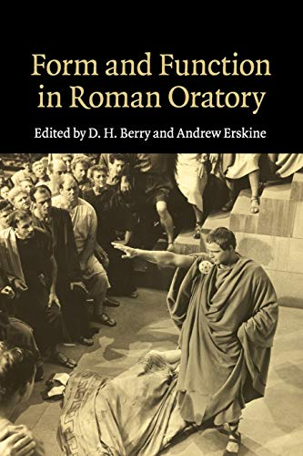 9781107499942: Form and Function in Roman Oratory