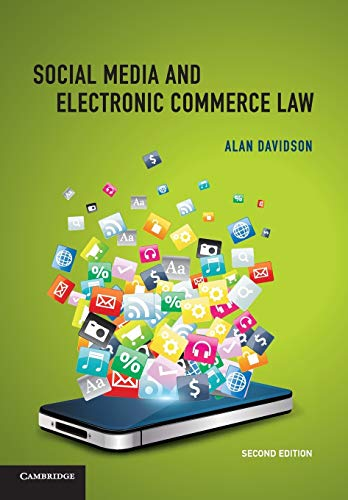 9781107500532: Social Media and Electronic Commerce Law