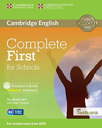 9781107501256: Complete First for Schools Student's Book without Answers with CD-ROM with Testbank [Lingua inglese]