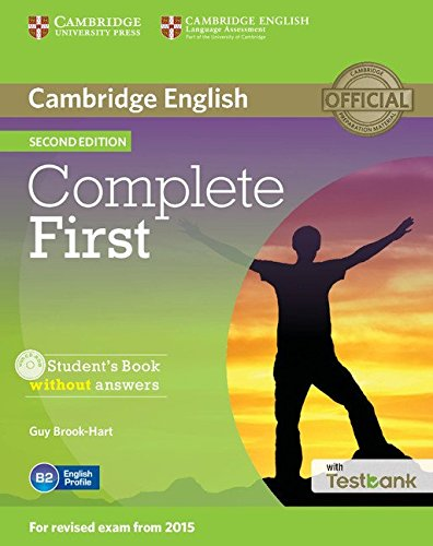 9781107501737: Complete First Student's Book without Answers with CD-ROM with Testbank