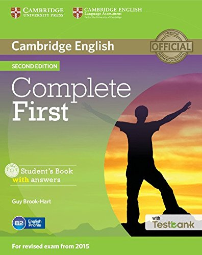 9781107501805: Complete First Student's Book with Answers with CD-ROM with Testbank