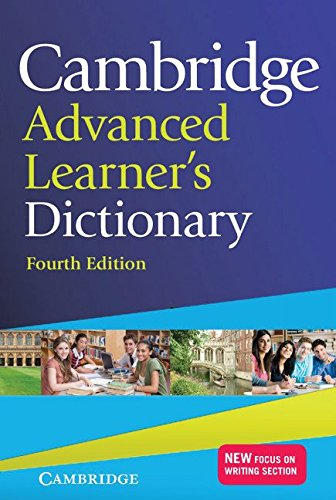 Cambridge Advanced Learner?S Dictionary (Fourth Edition)