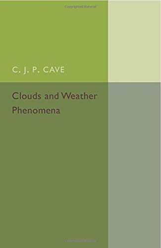 9781107504868: Clouds and Weather Phenomena