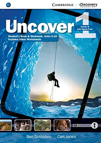 Uncover Level 1 Combo B with Online Workbook and Online Practice (Hardcover): Ben Goldstein