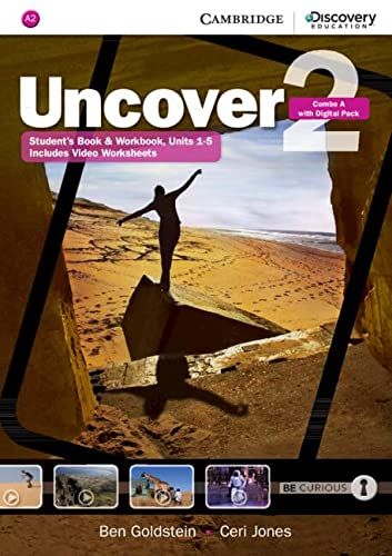 9781107515055: Uncover Level 2 Combo A with Online Workbook and Online Practice
