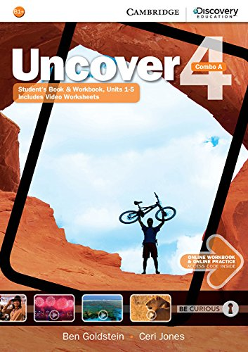 9781107515147: Uncover Level 4 Combo A with Online Workbook and Online Practice