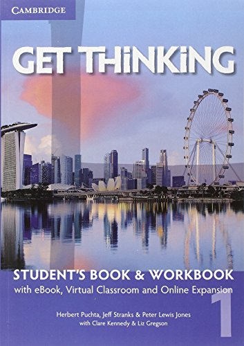 9781107516854: Get thinking. Student's book-Workbook. Per le Scuole superiori. Con e-book. Con espansione online: 1