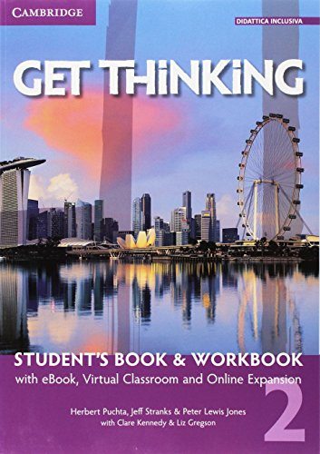 9781107517110: Get thinking. Student's book-Workbook. Per le Scuole superiori. Con e-book. Con espansione online: 2