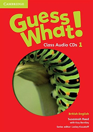 9781107526969: Guess What! Level 1 Class Audio CDs (3) British English
