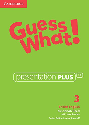 Guess What! Level 3 Presentation Plus British English (DVD-Video): Susannah Reed