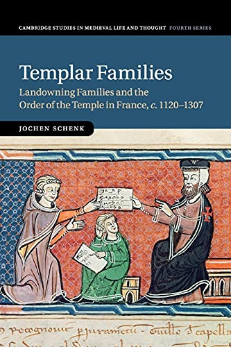 9781107530485: Templar Families: Landowning Families and the Order of the Temple in France, c.1120-1307 (Cambridge Studies in Medieval Life and Thought: Fourth Series)