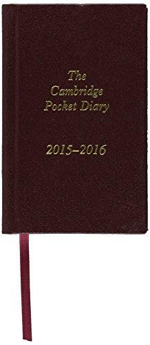 The Cambridge Pocket Diary 2015-2016