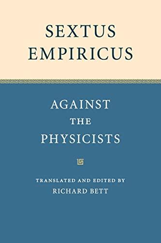 Sextus Empiricus: Bett, Richard