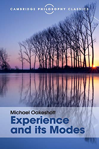 9781107534186: Experience and its Modes (Cambridge Philosophy Classics)