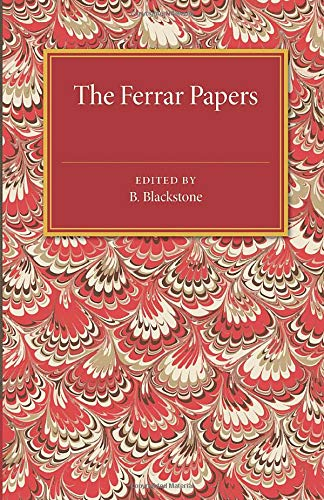9781107536548: The Ferrar Papers