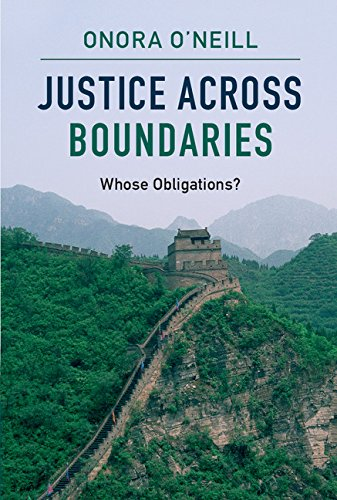 9781107538177: Justice across Boundaries: Whose Obligations?