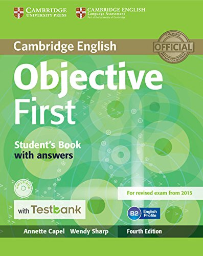 9781107542396: Objective First Student's Book with Answers with CD-ROM with Testbank 4th Edition