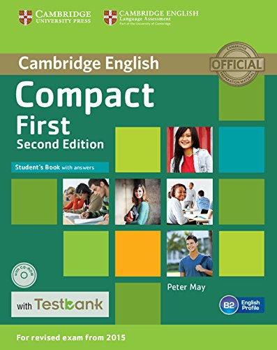 9781107542495: Compact First. Student's Book with answers. Con CD-ROM
