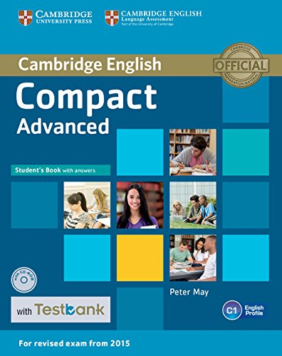9781107543850: Compact Advanced. Student's Book with answers. Con CD-ROM