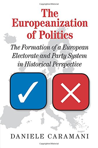 The Europeanization of Politics: The Formation of a European Electorate and Party System in ...