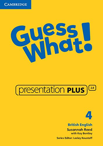 9781107545489: Guess What! Level 4 Presentation Plus British English