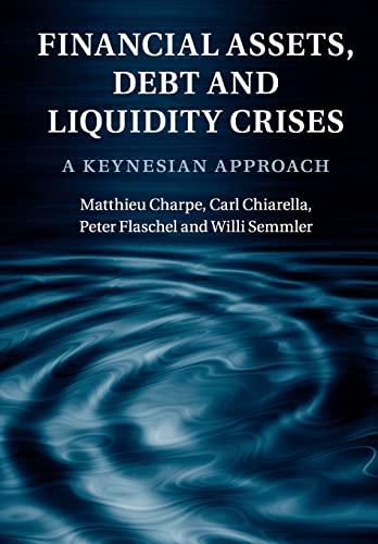9781107546660: Financial Assets, Debt and Liquidity Crises: A Keynesian Approach