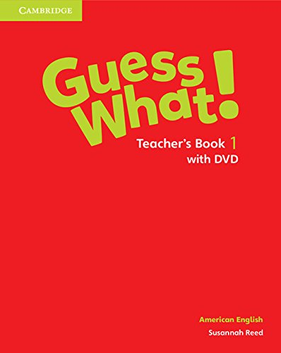 9781107556614: Guess What! American English Level 1 Teacher's Book with DVD