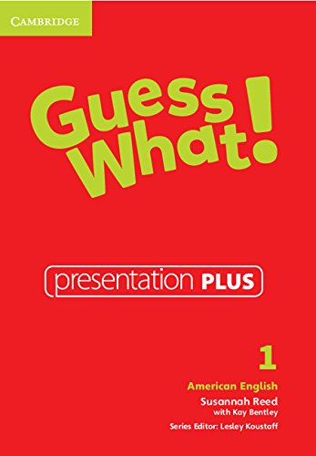 Guess What! American English Level 1 Presentation Plus: Susannah Reed