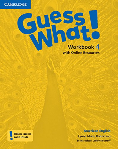 9781107556966: Guess What! American English Level 4 Workbook with Online Resources