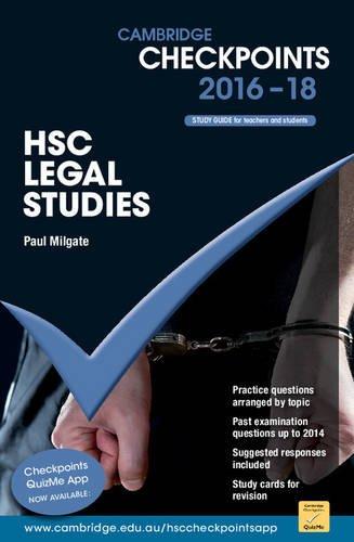 Cambridge Checkpoints HSC Legal Studies 2016-18: Paul Milgate