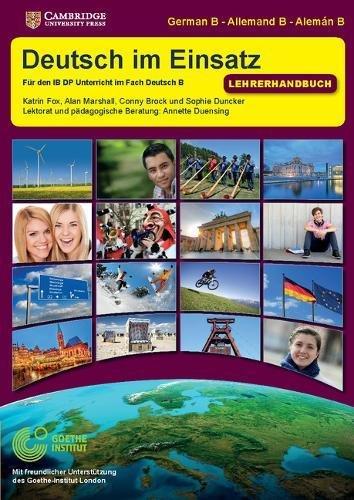 9781107564732: Deutsch im Einsatz Teacher's Book (IB Diploma) (German Edition)