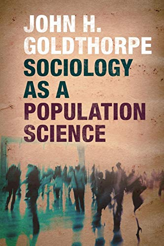 9781107567313: Sociology as a Population Science