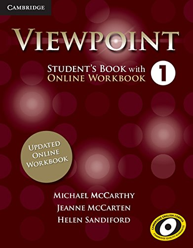 9781107568150: Viewpoint Level 1 Student's Book with Updated Online Workbook