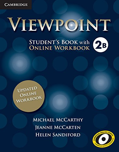 9781107568495: Viewpoint Level 2 Student's Book with Updated Online Workbook B