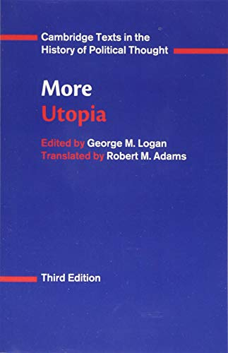 9781107568730: More: Utopia (Cambridge Texts in the History of Political Thought)