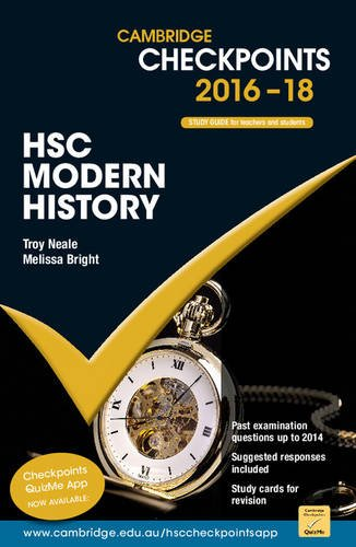 9781107570016: Cambridge Checkpoints HSC Modern History 2016-18
