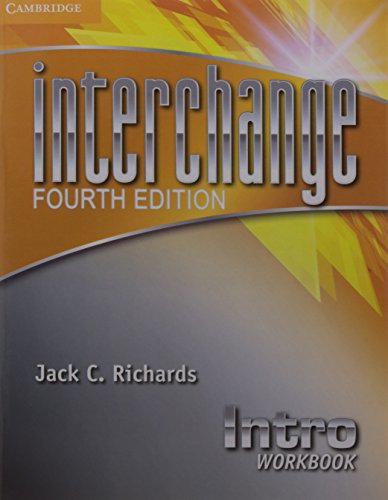 9781107570986: Interchange Intro Workbook 4th Ed